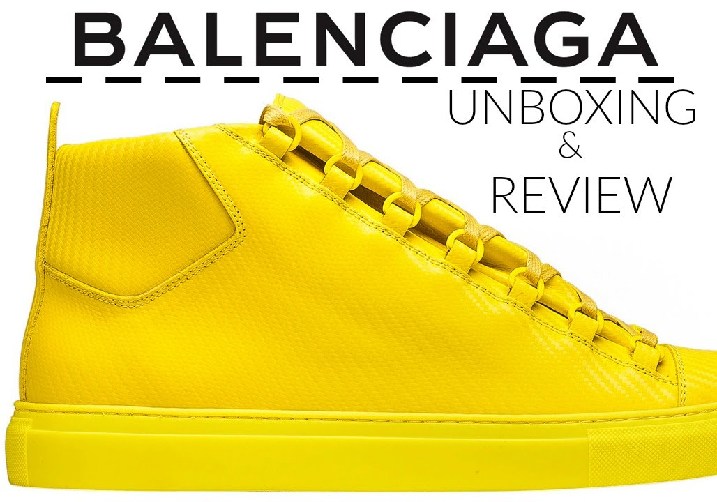 balenciaga shoes review