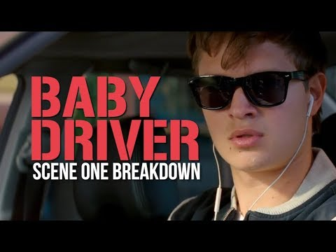 How Edgar Wright Sets Up Baby Driver  First  Breakdown