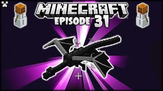 EASIEST Way To Beat The Minecraft ENDER DRAGON! | Python Plays Minecraft Survival [Episode 31]
