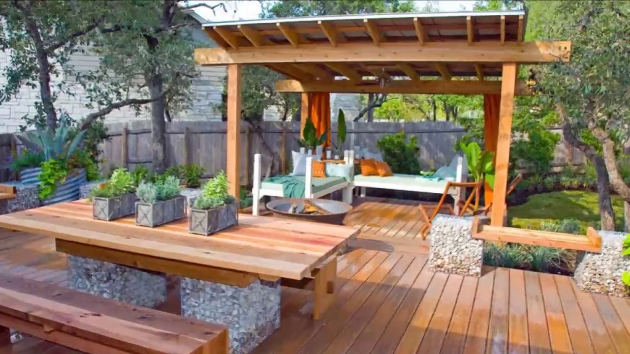 Modern Backyard Patio And Deck Ideas For Backyard [Small ... on Backyard Patio  id=17907