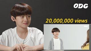 2000만뷰가 된 본인 영상을 본 아이의 반응 | ODG