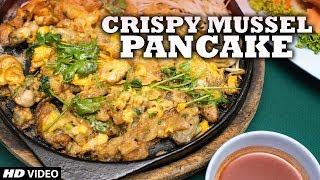 Crisp Fried Mussel Pancakes | Wang Lang - Bangkok | Thailand Special