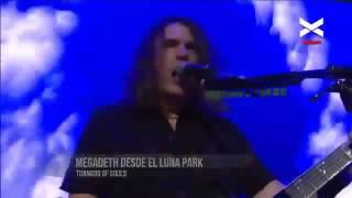 1er fecha de MEGADETH en el Luna Park el 22 de agosto de 2016.. Dys...