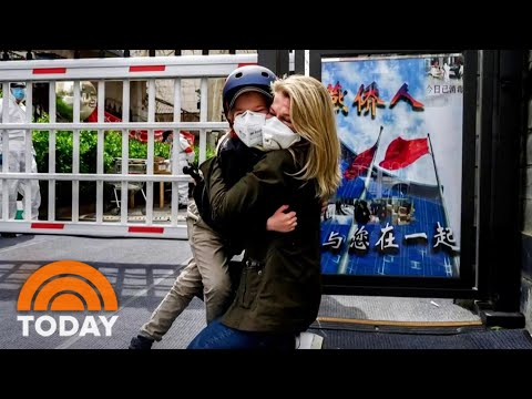 NBC Correspondent Reunites With Her Young Son After Coronavirus Quarantine | TODAY