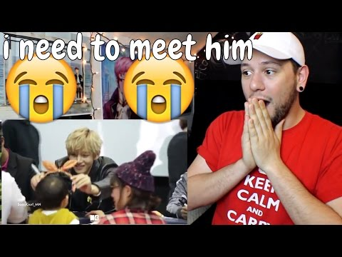 BTS V With Fanboys 😍 | Reaction