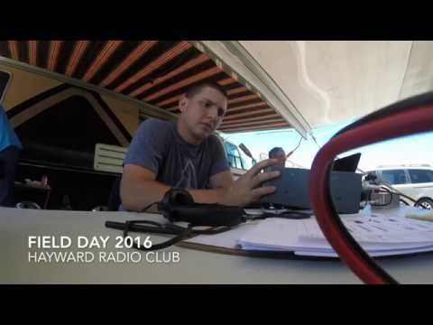 Hayward Radio Club field day 2016