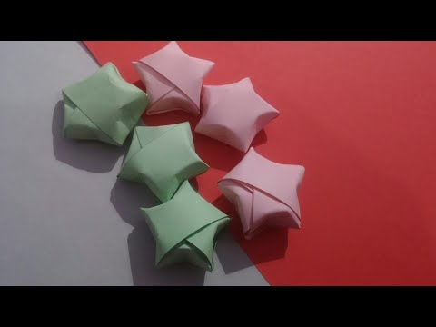 DIY Origami Star | Paper Star | Origami Paper Crafts | Biya is Doing