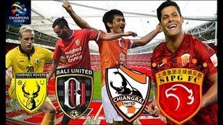 4 TIM MEREBUTKAN 1 KURSI (Bali United, Tampines, Chiangrai United, Shanghai SIPG )
