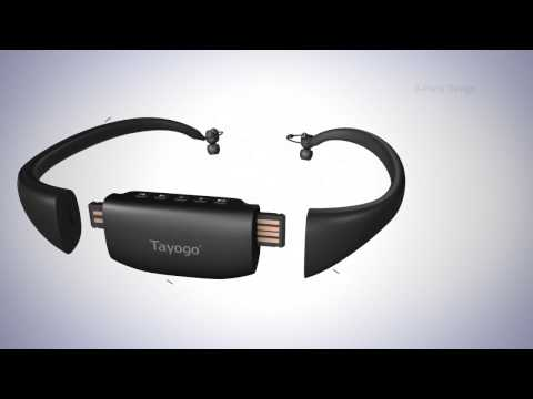 Tayogo AMP, the waterproof mp3 player and bluetooth Headset FM All in One DEMO