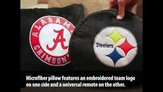 Remote Control Pillow from Team Sports America by Evergreen Enterprises Thumbnail