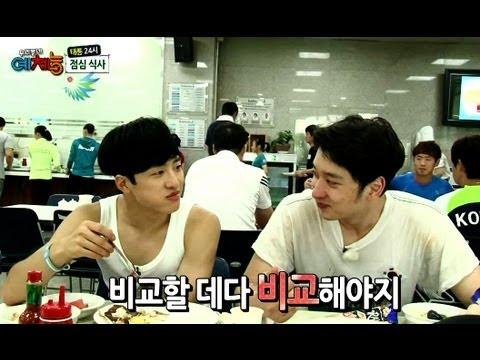 Cool Kiz on the Block | 우리동네 예체능 - Taeneung Athletes' Village: Part 2 (2013.09.10)