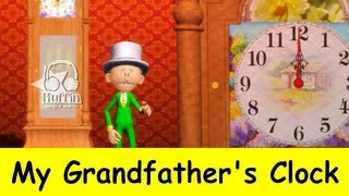 Muffin Songs - My Grandfather's Clock  (大きな古時計)| Nursery Rhymes & Children Songs