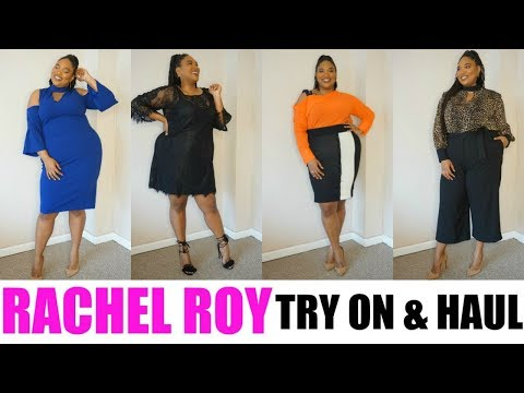 RACHEL ROY CURVE COLLECTION Try-on Haul  Plus Size Fashion