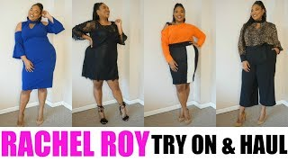 RACHEL ROY CRUVE COLLECTION Try-on Haul  Plus Size Fashion