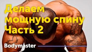 Как накачать спину (Тренировка №2) Делаем мощную спину(Как накачать спину (Тренировка №2) Делаем мощную спину Ещё больше о тренировке мышц спины https://goo.gl/Q6RIim Наш..., 2017-01-25T09:11:37.000Z)