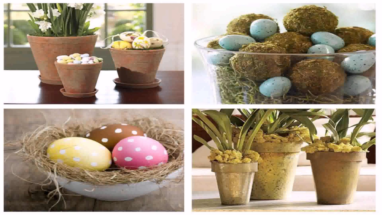 diy easter decorating ideas pinterest youtube. Black Bedroom Furniture Sets. Home Design Ideas