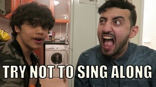TRY NOT TO SING ALONG CHALLENGE!!