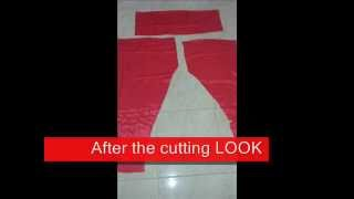 Chudidar Pant cutting easy method