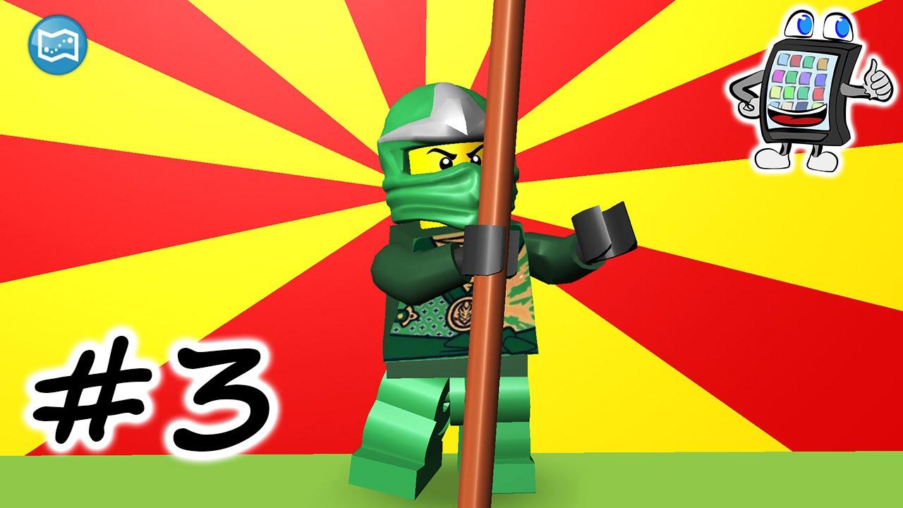lego juniors quest 3 app für kinder  ninjago jagt