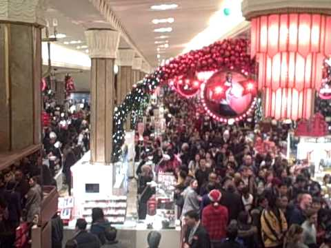 Black Friday At Macy's Herald Square