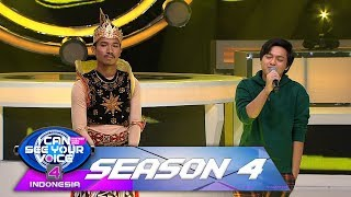 Duet Terbaik! Arsy Widianto feat KSATRIA MUSIK [DIA MILIKKU] - I Can See Your Voice (15/2)