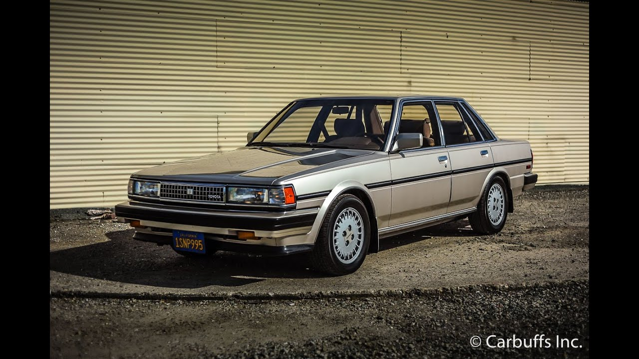 1987 Toyota Cressida Luxury Used Cars - Concord,CA - 2016 ...