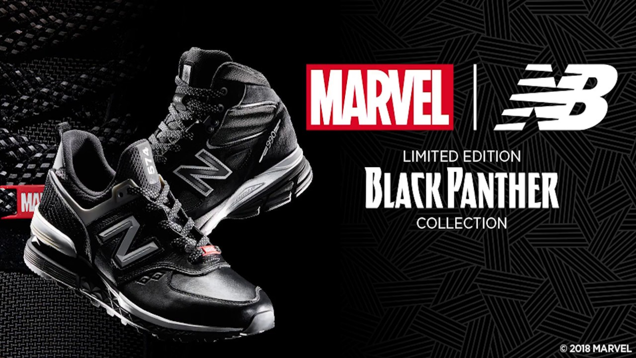 7c093dbbac1 New Balance x Black Panther (Marvel) Sneaker Launch Event - YouTube