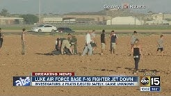 Luke Air Force Base F-16 fighter jet crashes