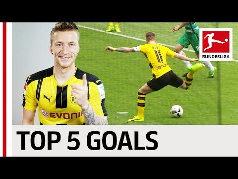 Marco Reus - Top 5 Goals - 2016/17 Season