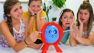 Don't Pop It Challenge | Brooklyn and Bailey