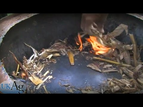 "Turning organic waste into Biofuel ""Bio-char"" - Fuel solutions for Haiti"