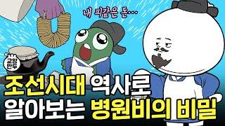[심평원x교양만두] 조선시대 역사로 알아보는 병원비의 …