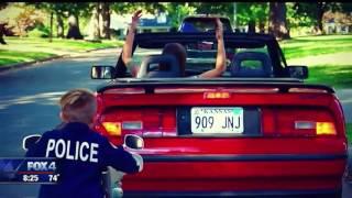 Kid cop patrols Kansas neighborhood