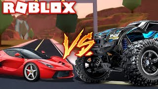 THE NEW BEST CAR IN ROBLOX JAILBREAK!! *UPDATE* (Monster Truck , Ferrari + More!)