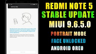 Miui 9.6.5.0 Stable Update For Redmi Note 5