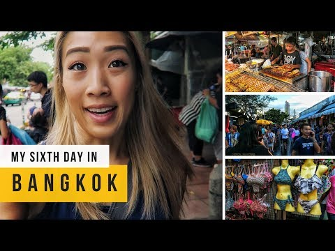 CHEAPEST MARKET IN BANGKOK | VLOG 6