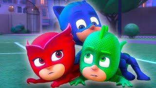 PJ Masks Deutsch Pyjamahelden Ganze Folgen 9 + 10 | Cartoons für Kinder
