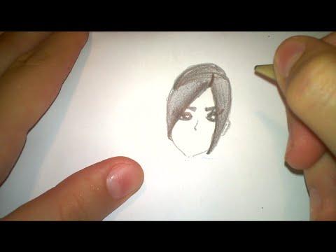 Desen Din Creion Fata De Papusa