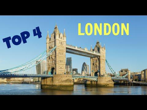 4 Best Places in London, U.K