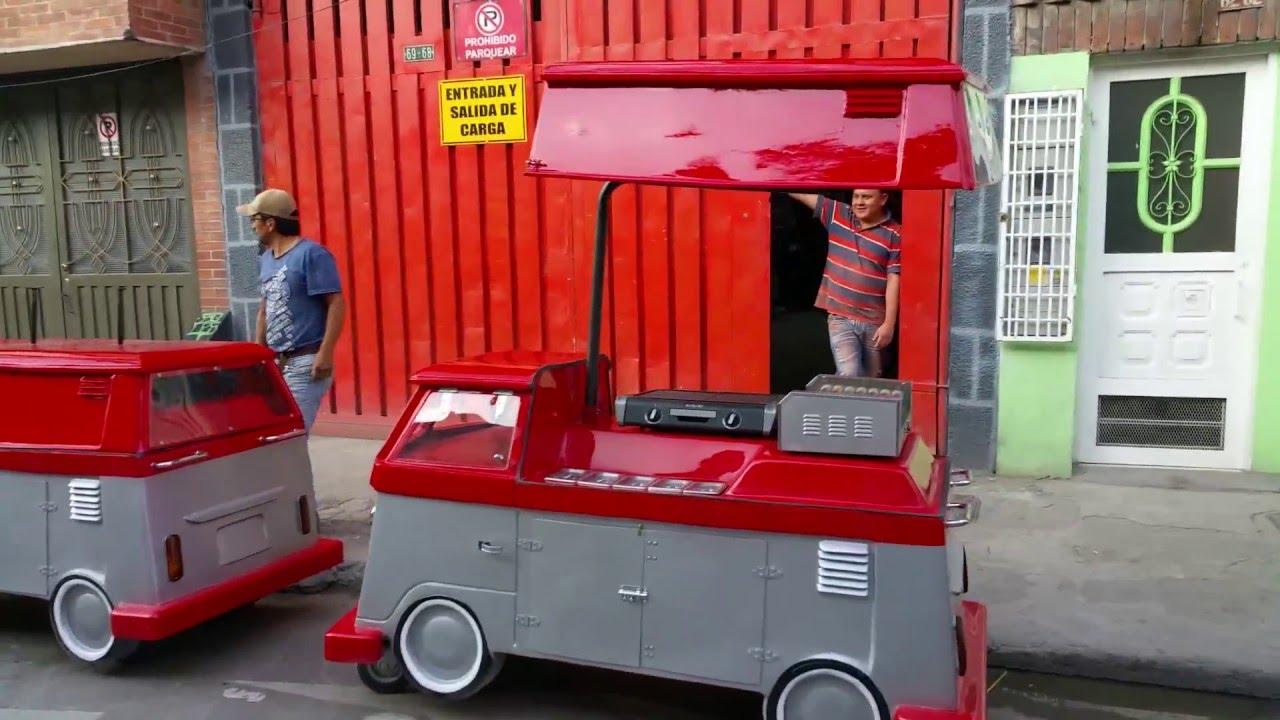 Carros para comidas rapidas fibra de vidrio dayraescultor for Mesas para negocio comidas rapidas