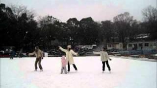 NHK朝ドラのてっぱんダンスを、スケートで踊ってみました.