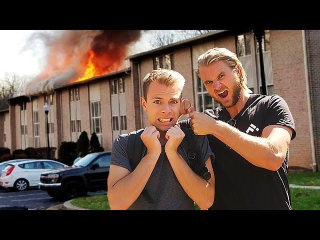 Jeg satte ild til Brian Brizzes lejlighed!