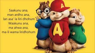 Video Kun Anta - Humood Alkhunder ( Chipmunks Version. ) download MP3, 3GP, MP4, WEBM, AVI, FLV Agustus 2017