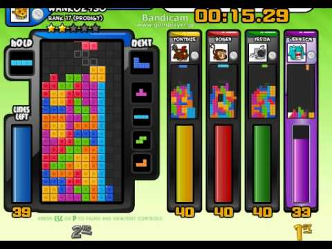 how to play tetris sprint 5p with friends