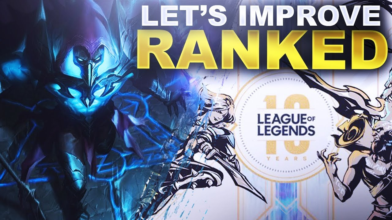 LET'S IMPROVE RANKED IN LOL! RIOT ASKED FOR HELP! | League of Legends thumbnail