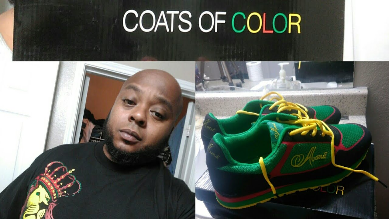 COATS of Colors by #Abana Shoes Pt 1