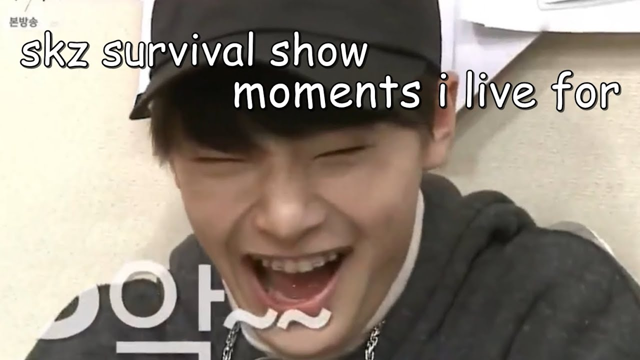 Stray Kids survival show funny/iconic moments