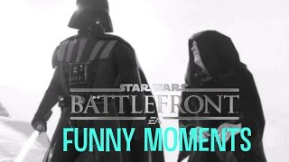 Star Wars Battlefront - Funny moments #1