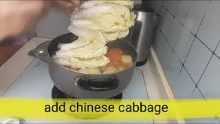 #41 How to cook Nilagang karne ng baboy/Paano lutuin ang nilagang karne ng baboy/LanLan OFW