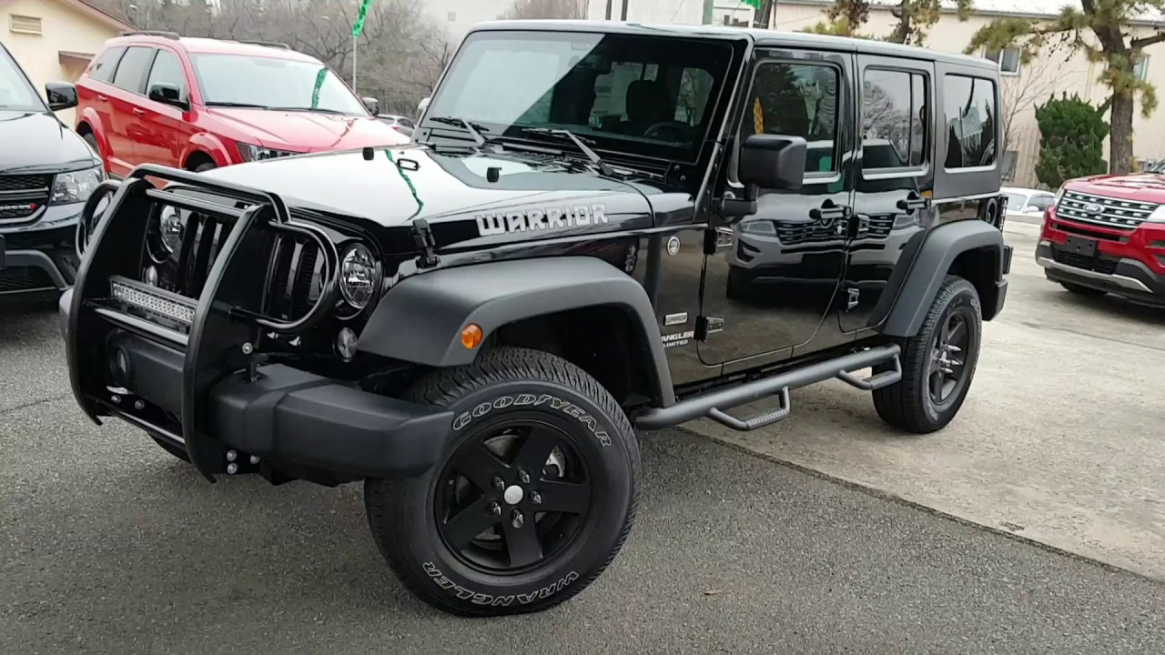 JEEP WRANGLER WARRIOR Factory build First Look! - YouTube